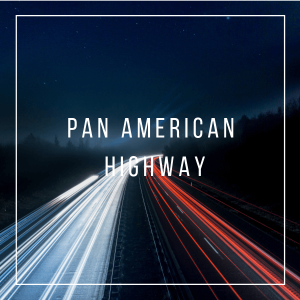 This magnificent shot of night time on the longest road in the world, the Pan American highway which has been used to travel from north to south us for few decades now.