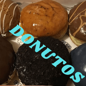 Photo of top 6 donutos of 2019. 6 different flavours, 6 different pieces. BUt all of them taste like heaven