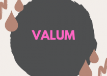 300x300 pixels image with bright pink text valum, pink is the most associated color with this drug