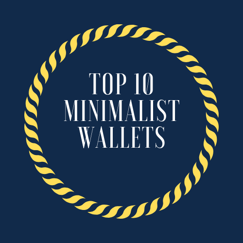 I own a minimalist wallet, do you? Check this top 10 list; I am sure you will find one which is a perfect one for you. This image was created by three different colors, dark blue as a background, yellow for details and white color for text.