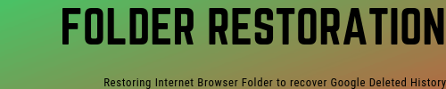 Recovery of deleted google chrome history can be achieved via folder restoration process, which is quite easy and can be done within a few minutes of work.