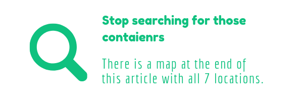 Stop randomly searching and wasting your time on searching chests inside containers with windows. There is a better way and by better way I mean that right in this article is a map where all 7 locations are highlighted for you.