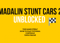 Madalin stunt car 2 unblocked is my favorite stunt car racing game. Read the whole article to find out how to play, what is the top speed and what options this game gives you. An you can play it here as well