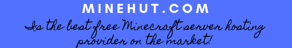 Minehut.com is the best free minecraft server hosting provider on the market in 2019!