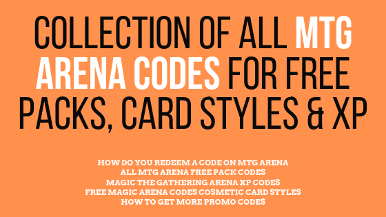 Collection of all mtg arena codes which are currently working and how to get more of them. I will also teah you how you can redeem these codes.