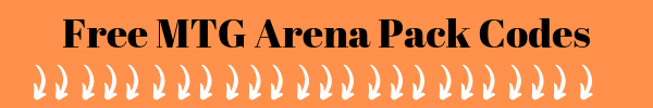 Free mtg arena codes for free packs. All of these codes are on the left side and on the right side is what you will receive for free after redeeming the coupon code